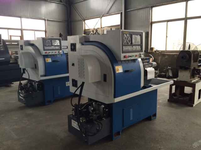 Precision CNC Hydraulic Chuck Lathe Programming Machine For Sale