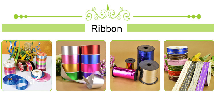 3CM with gold silver line decoration ribbon spool