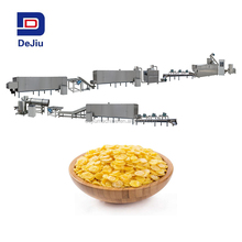 2017 Industrial cereal breakfast Corn flakes Making Machine/corn flakes manufacturing corn flakes processing line factory price
