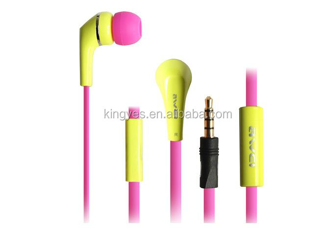 Hot sale new design earphone Awei Q7i multi colors with fast shipping