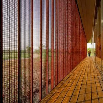 extérieur décoratif perforé tôle d'acier corten panneaux d'écran