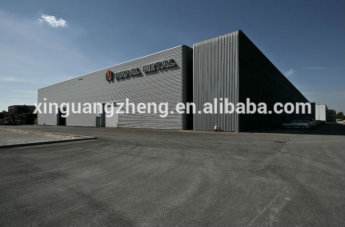 Prefab Corrugated Lightweight Steel Structure Space Storage Warehouse