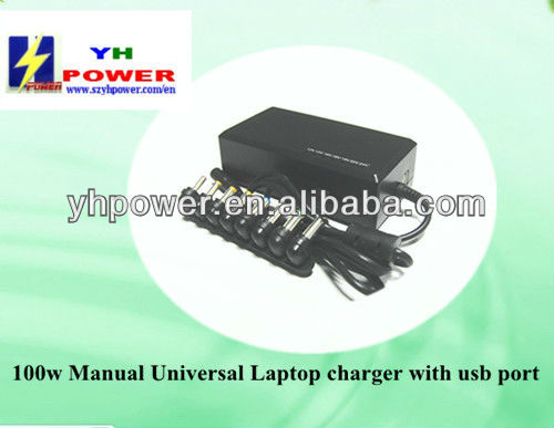 100w universal usb ac adapter