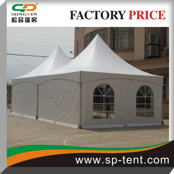Best design easy up aluminum profile structure double high for Carport 6x9m