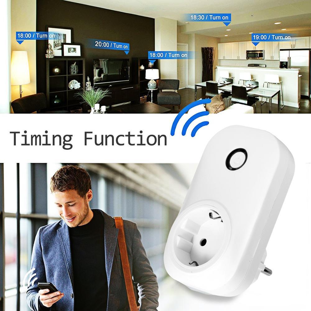 OEM / OAM Alexa Google Wireless-Steckdose EU Wifi Smart Plug