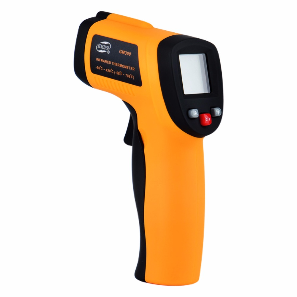 Digital Infrared Thermometer Gun GM300 Handheld Non-contact IR Temperature Tester Gun - KingCare | KingCare.net