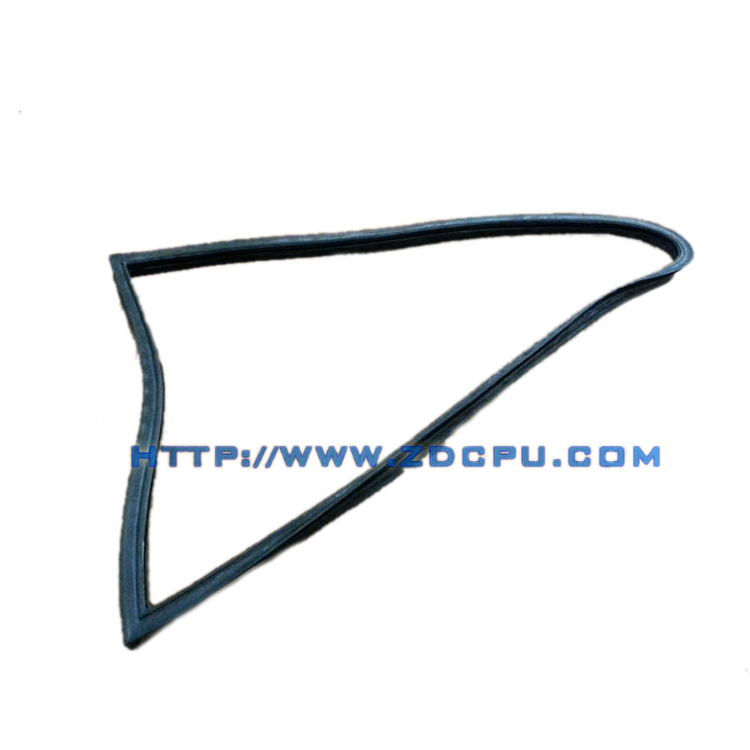 Weather resistance rubber seal strip for glass car window