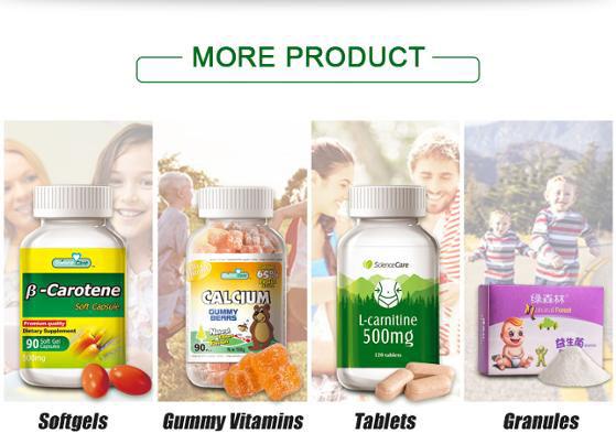 Yichao OEM gummy vitamin kecantikan kulit penurunan Berat Badan cuka sari Apel Gummies