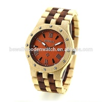 China Watch Factory Hot Sale Professional CE Certificated Universe Brand Watches BEWELL Wooden Watch for Men