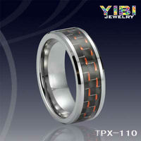 Tungsten Mens Carbon Fiber Rings Alibaba adjustable tungsten wedding band arabic rings