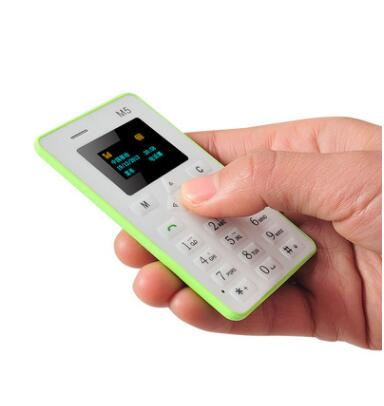 <strong>hot</strong> and popular 11USD /pcs Ultra Thin M5 Card Phone 4.5mm Mini Pocket Mobile Credit Card Phone