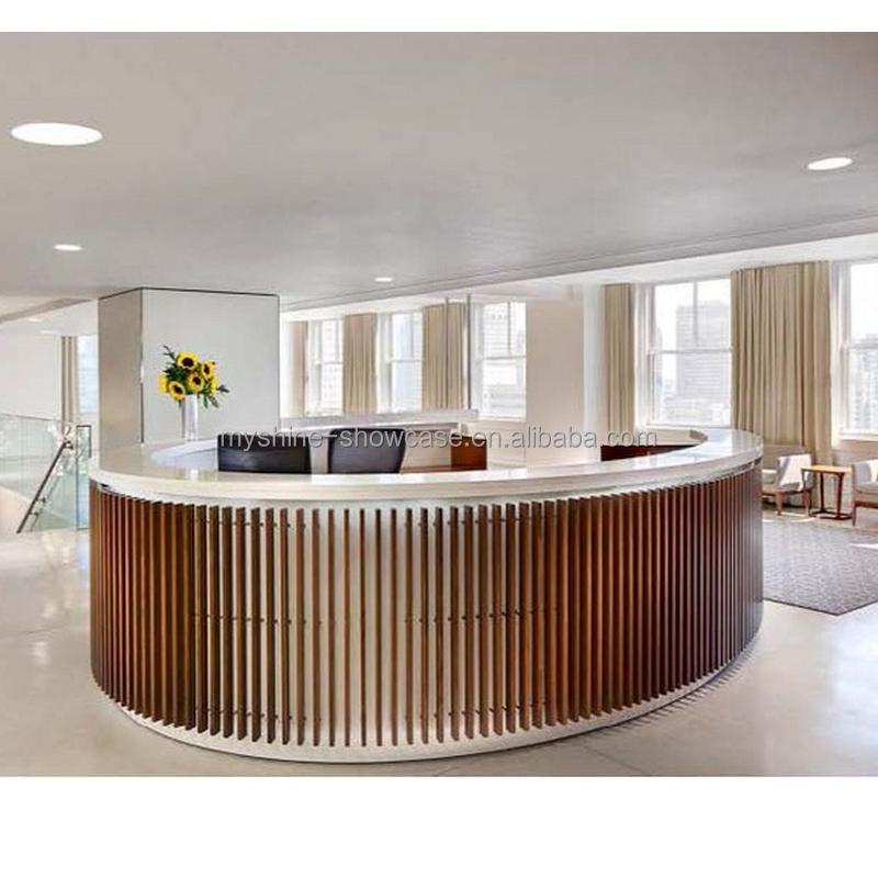 Circle Reception Desk