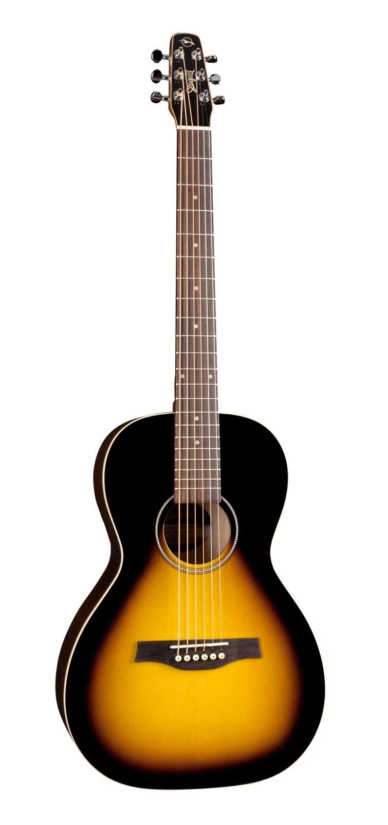 Get Quotations · Godin Guitars 040209 Seagull Grand Sunburst Acoustic Guitar