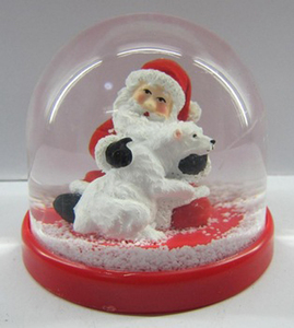 New Acrylic photo frame picture insert snow water globe
