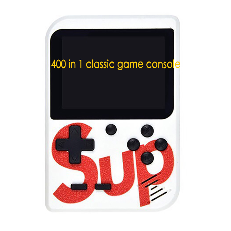2019 Hot Mini Handheld Game Consoles Portable Retro Mini Game Console Lcd 3.0 Inch Screen Built-In 168/400 Game