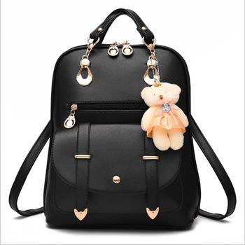 e96de7cba092 Hot Selling 2018 Fashion Women Mini Backpack For School Girls