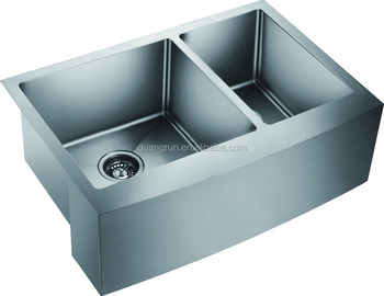 Stainless Steel Hand Made A Front Kitchen Sink Gr 3021dr