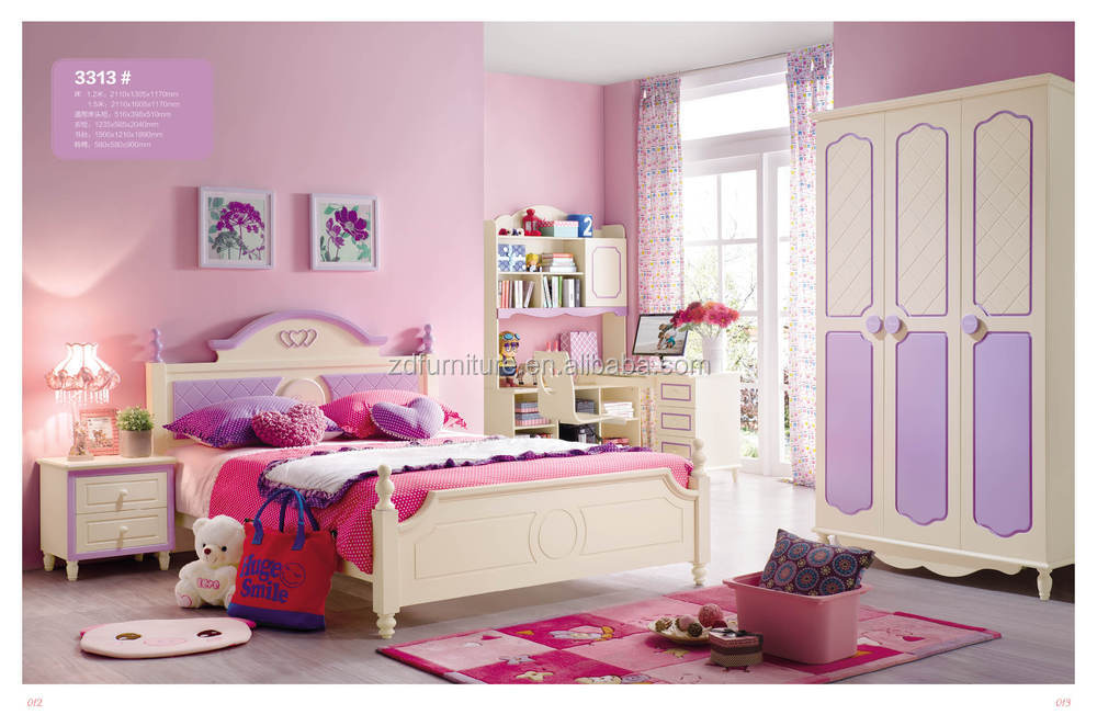2015 hot sale boys single bed new design children bed