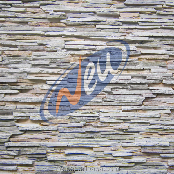 Waterproof Polyurethane Decorative Faux Stone Wall Panels
