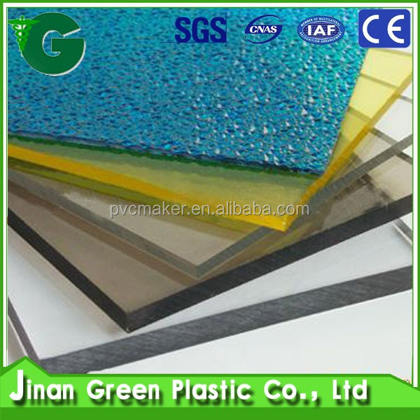 Green Plastic Frosted Acrylic Sheet For Decoration