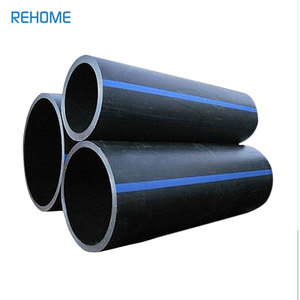 Pn 20 Sdr 9 Dn 630mm Fm Approved Hdpe Pipe For Water Supply And Drainage