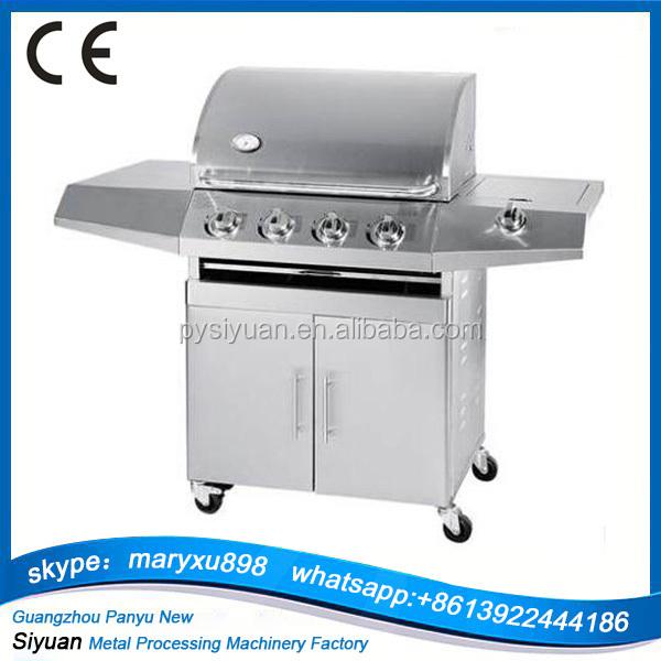 2018 vendita calda esterna in acciaio inox barbecue grill a gas per la vendita