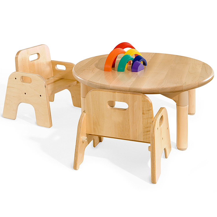 Baby Sitting Study Kids Chair Wood Daycare Wooden Furniture for Sale
