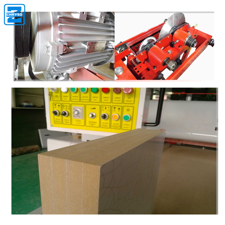 Horizontal sliding table saw machine full automatic woodworking panel cutting machine