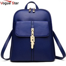 2015 backpacks women backpack school bags students backpack ladies women's travel bags leather package YA80-173