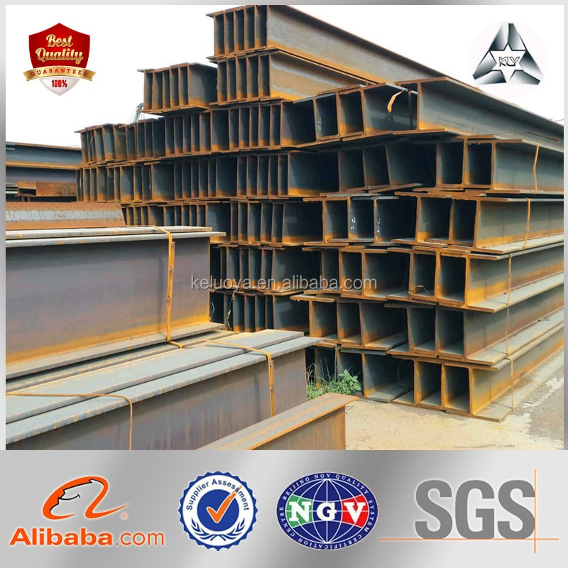 SS400 Structure Beam Professional Structural Steel Beam Metal H Beam