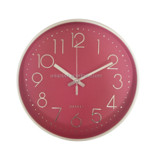 3D digital creative scale mute quartz wall clock for home decoration
