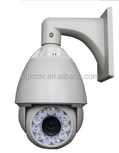 30X Auto Tracking Vandalproof Ptz Ip Speed Dome Camera 120m-150m IR Distance Waterproof IP66