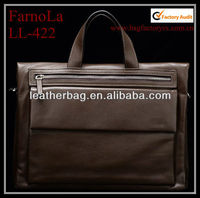 Alibaba China mens leather bags men's genuine leather bag briefcase