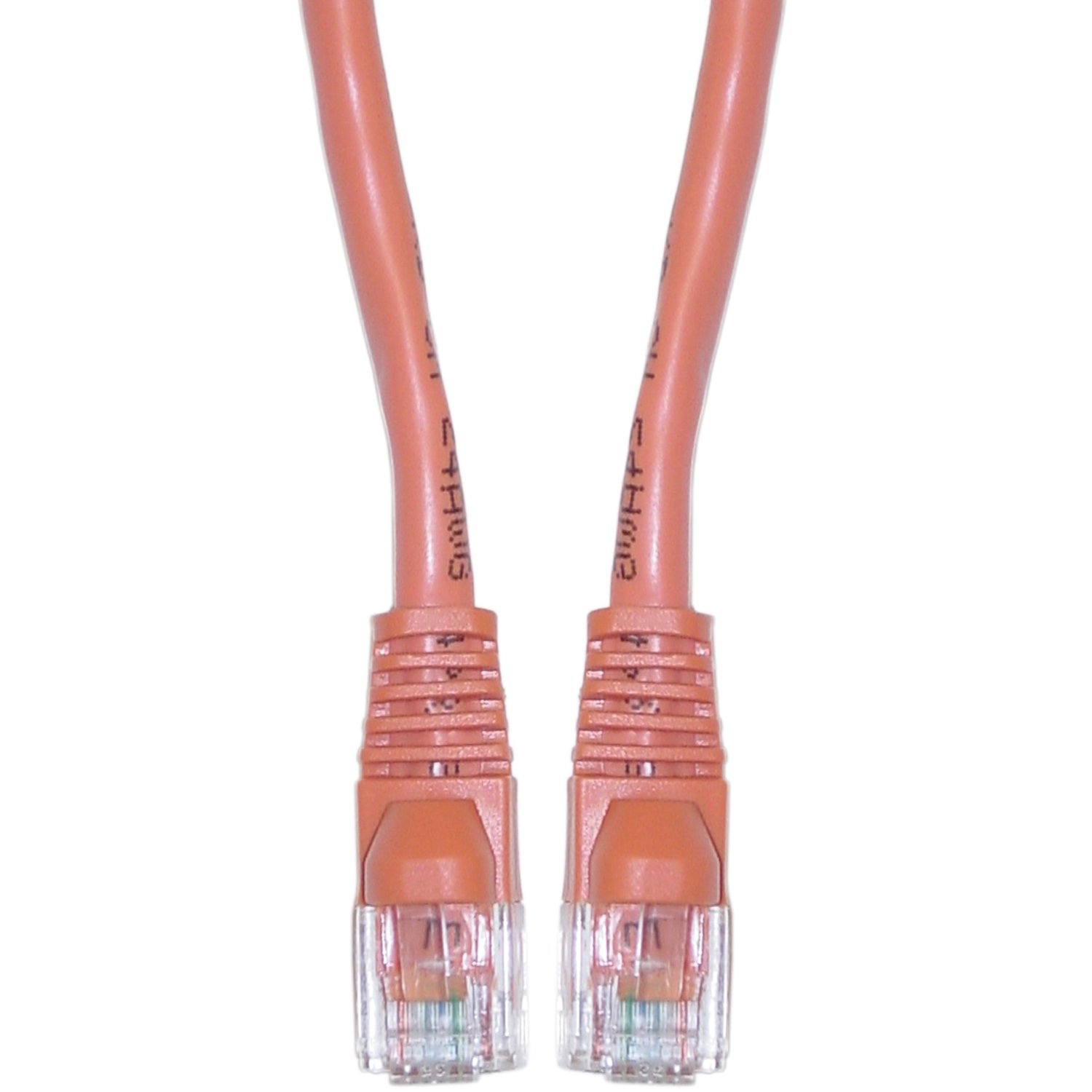 350MHz Ethernet Network Patch Cable Snagless//Molded Bubble Boot//5FT//RED 10 Pack CAT5e RJ45 UTP