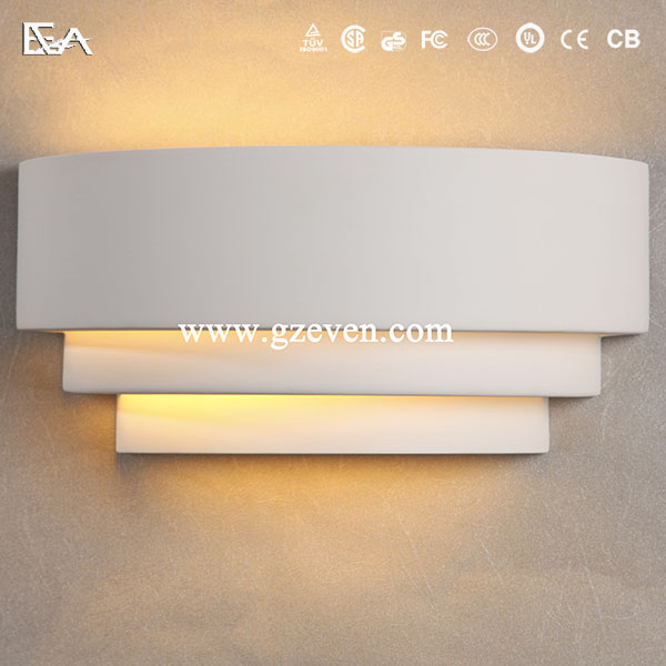 Gypsum Wall Light/led Wall Light/up And Down Led Plaster Wall Light Unique Design Plaster Wall ...