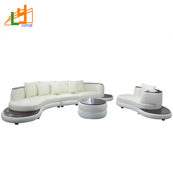 Top Quality Wooden Frame Leather Curved Couch Set Modern Drawing Room  Furniture Curved Sofa, View Curved sofa, LY Product Details from Shunde  Luyue ...