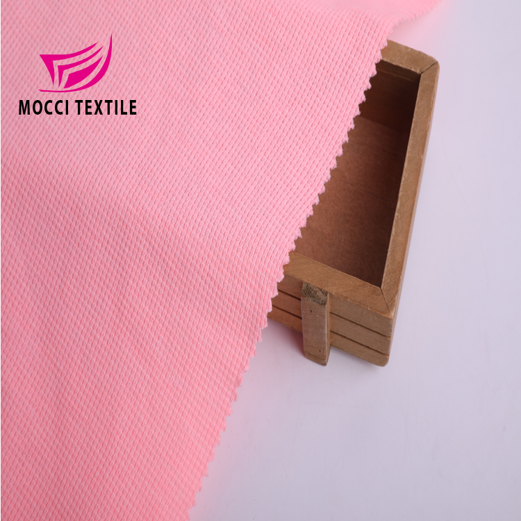 mocci New style 60%<strong>cotton</strong> 40%polyester CVC strech <strong>knit</strong> waffle fabric