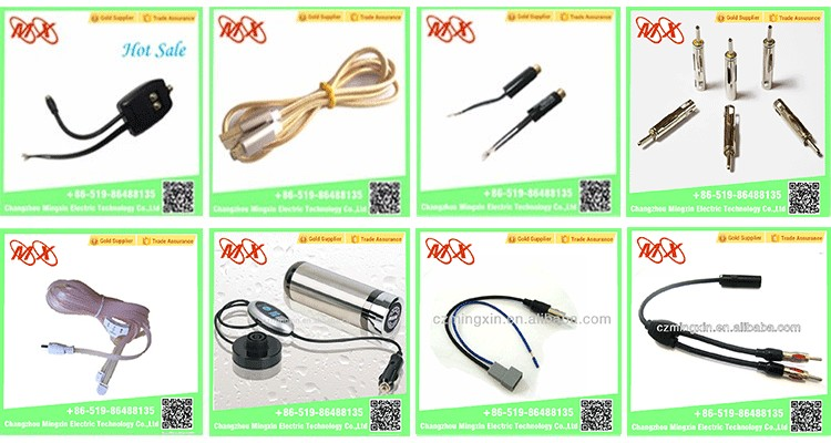 Factory price car audio transformer plug for sale