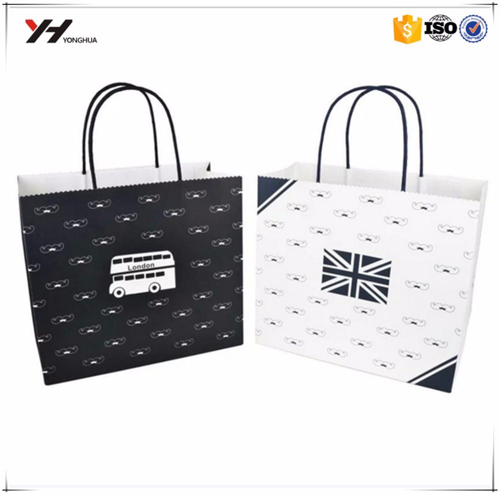 Brown Paper Bag Template Handmade Newspaper Bags