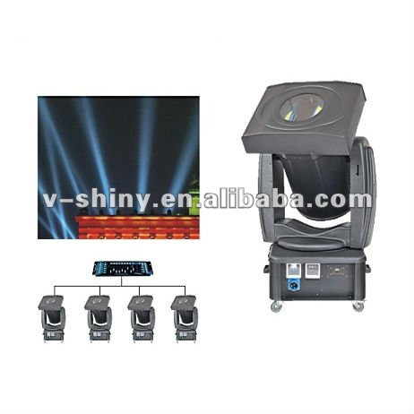most popular color mixing moving head search ligh xenon 3000w