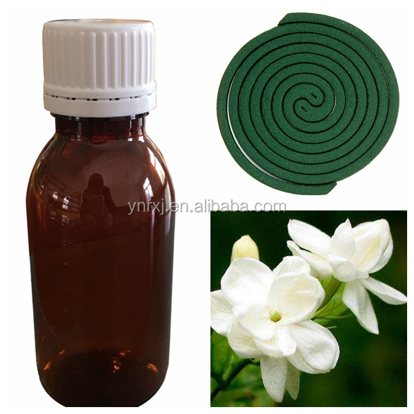 High quality fragrance Oil for Jasmine flower mosquito repellent incense