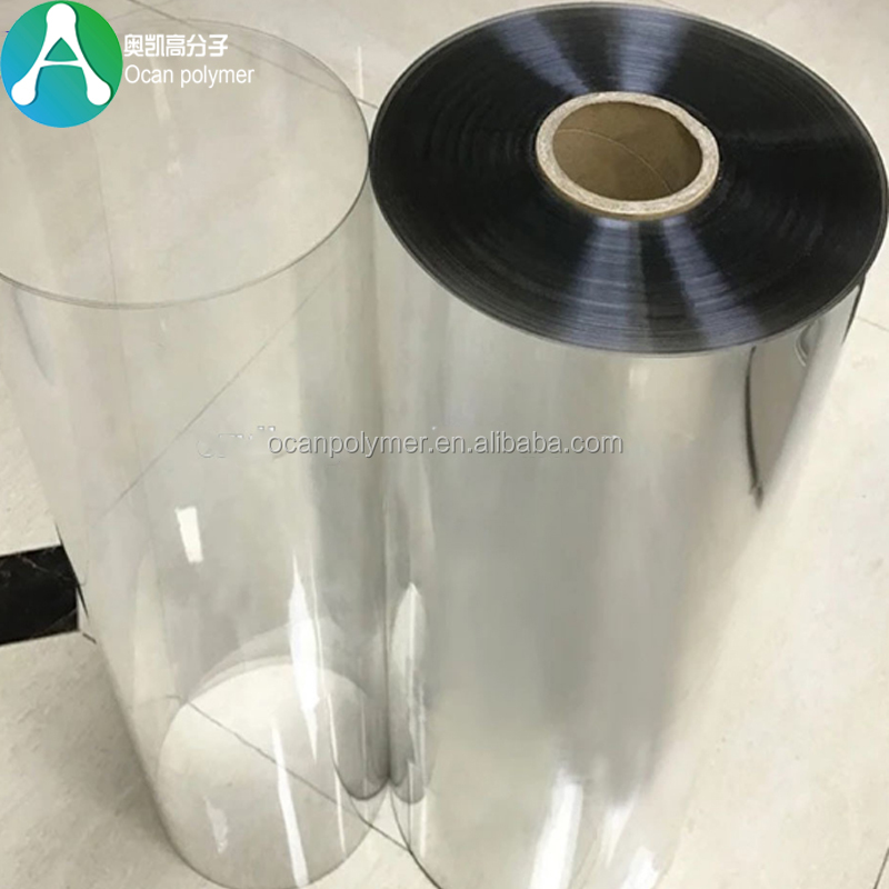 Vacuum forming Transparent Rigid 0.5mm PET Plastic Sheet Roll