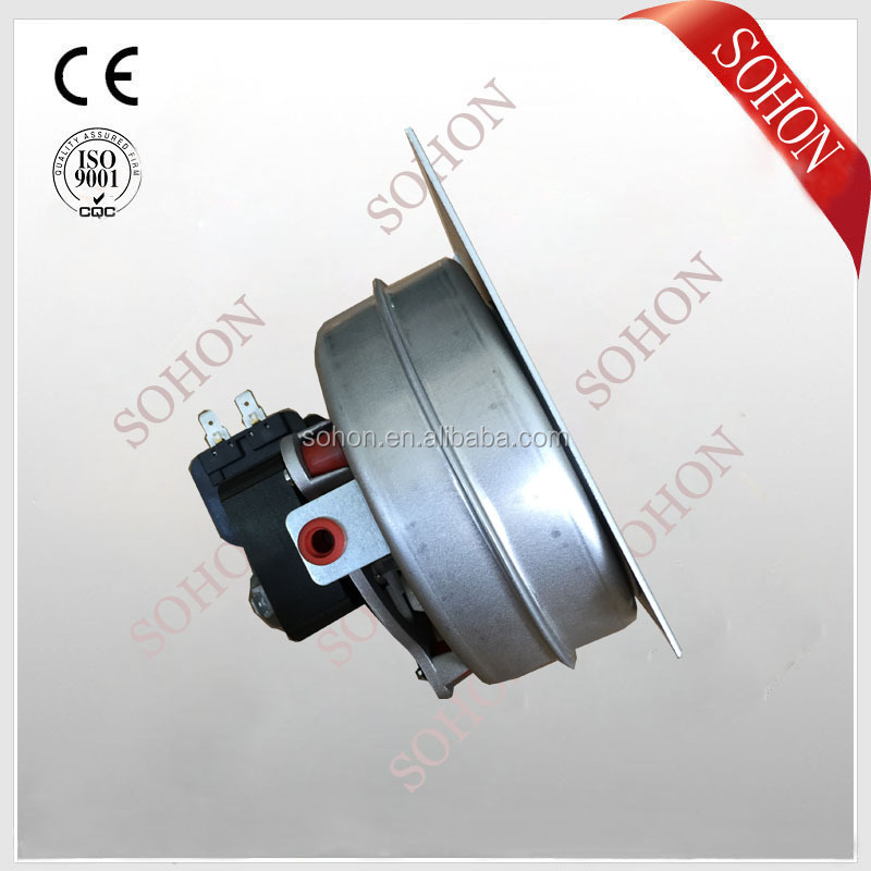 35W micro centrifugal combustion blower with mounting plate