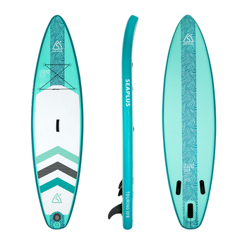 Fissot fresh10'6 PVC inflatable SUP stand up paddle board with all accessories