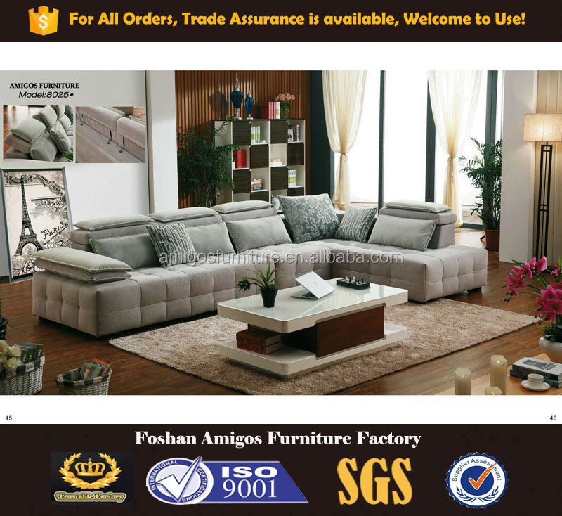 Moroccan luxury modular sectional living room furniture