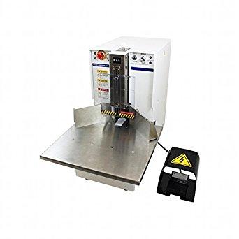 Akiles Diamond-7 Corner Rounding Equipment, 2-3/4″ (70mm)/700 Sheets (20 lb) Maximum Capacity, 1/4″ Included Die, Large Work Table, Heavy-Duty Foot Pedal, Storage & Trash Bin, Manual & Auto Mode
