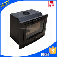 2016 new design wood pellet fireplaces inserts with EPA passed
