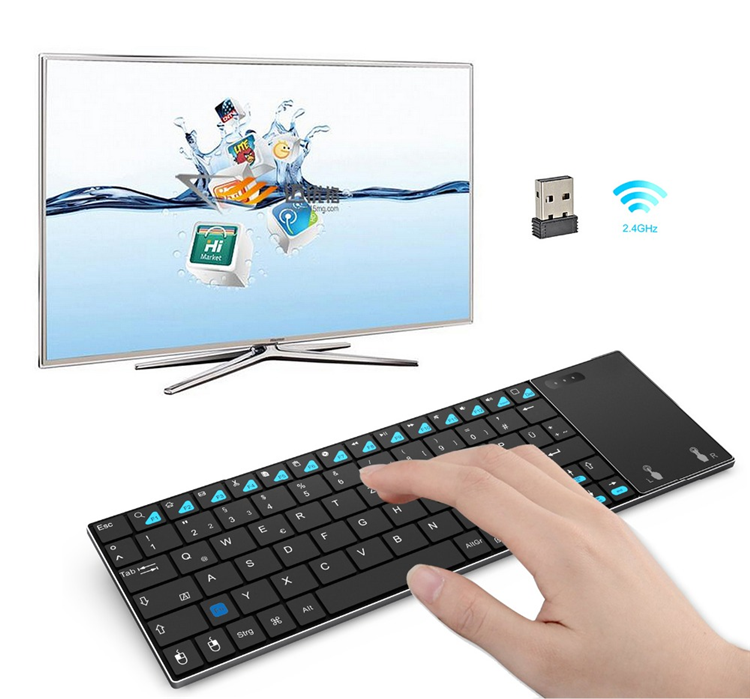 2019 Best price of MINIX K2 BT Wireless Keyboard Backlight MX3 OEM Air Mouse for TV Box PCs OS