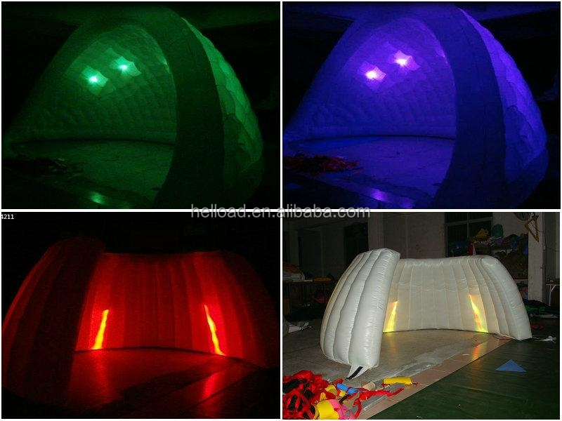 Inflatable LED party tent/ wedding dome tent
