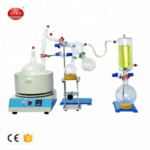 New Electric 2l Short Path Vacuum Distillation / Rotary